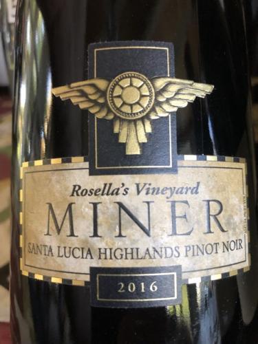 Miner - Rosella's Vineyard Pinot Noir - 2016