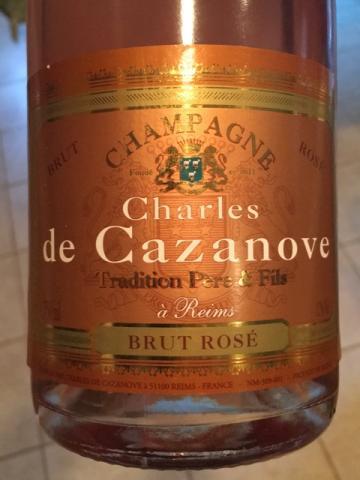 Charles de Cazanove - Champagne Tradition Brut Rosé - N.V.