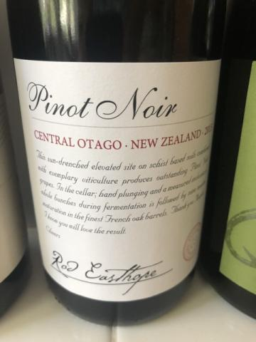 Rod Easthope - Pinot Noir - 2015