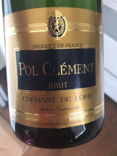Pol Clément - Crémant de Loire Brut - N.V.