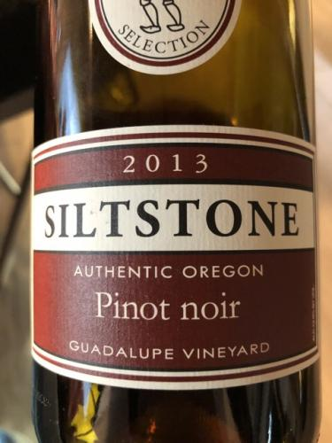 Siltstone Wines - Guadalupe Vineyard Pinot Noir - 2013