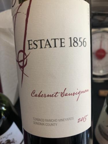 Estate 1856 - Tzabaco Rancho Vineyards Cabernet Sauvignon - 2015