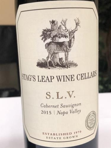 Stag's Leap Wine Cellars - S.L.V. Cabernet Sauvignon - 2015