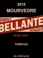 Bellante Family Winery - Mourvèdre - 2015