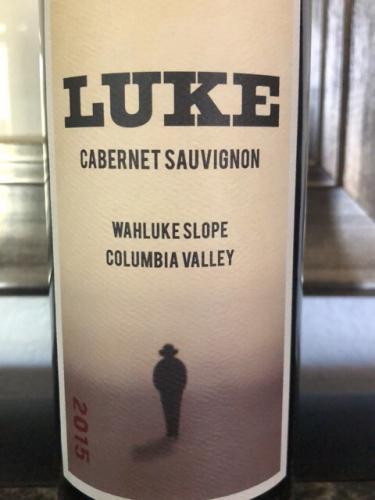 LUKE - Cabernet Sauvignon - 2015