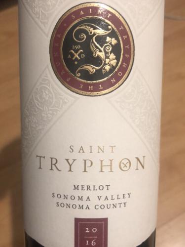Saint Tryphon - Merlot - 2016