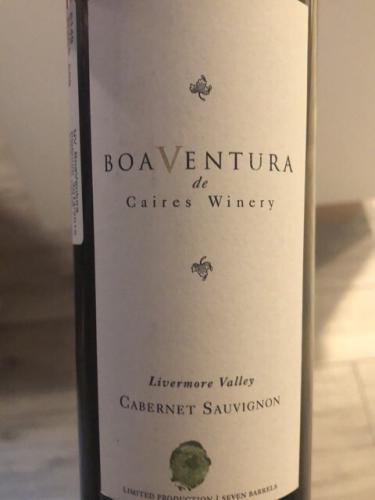 Boaventura de Caires - Livermore Valley Cabernet Sauvignon - 2013