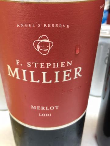 F. Stephen Millier - Angel's Reserve Merlot - 2014