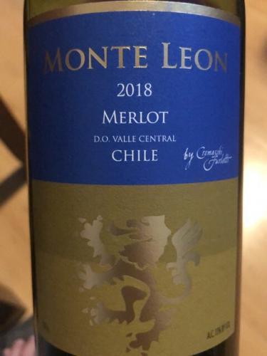 Monte Leon - Merlot - 2018