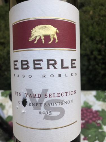 Eberle - Vineyard Selection Cabernet Sauvignon - 2013