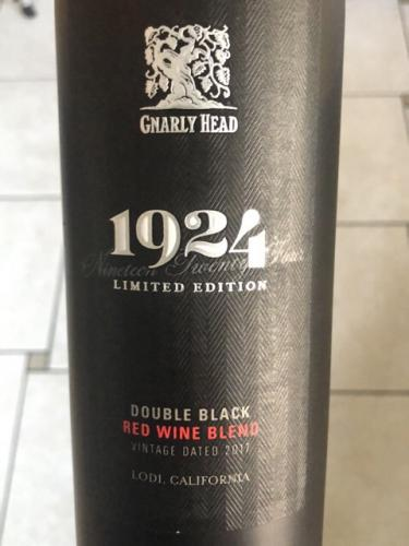Gnarly Head - 1924 Double Black Red Blend (Limited Edition) - 2017