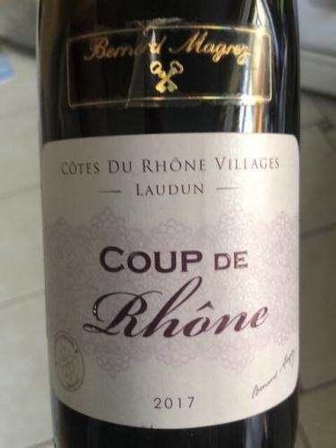 Bernard Magrez - Coup de Rhône Côtes-du-Rhône-Villages - 2017