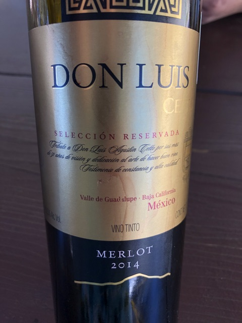 L. A. Cetto - Don Luis Merlot - 2014