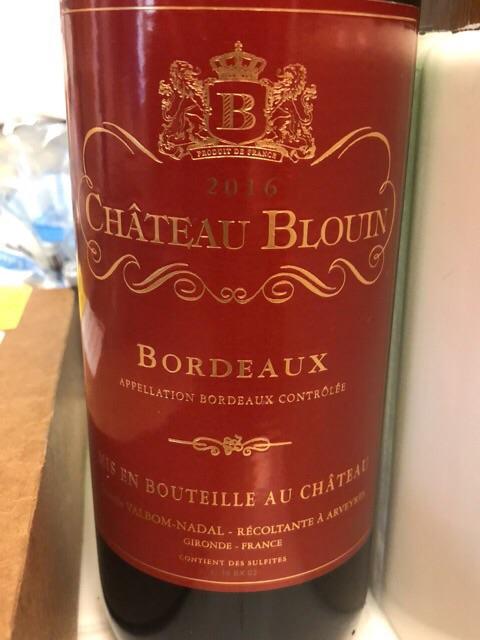 Château Blouin - Bordeaux - 2014
