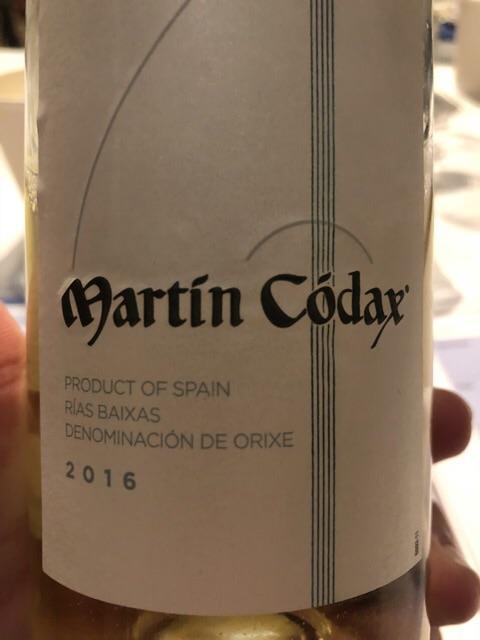 Martin Codax - Albariño - 2016