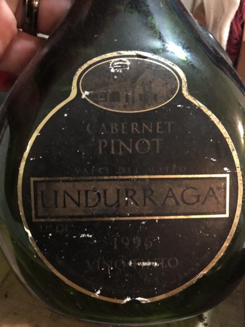 Undurraga - Pinot - Cabernet Sauvignon - 1996