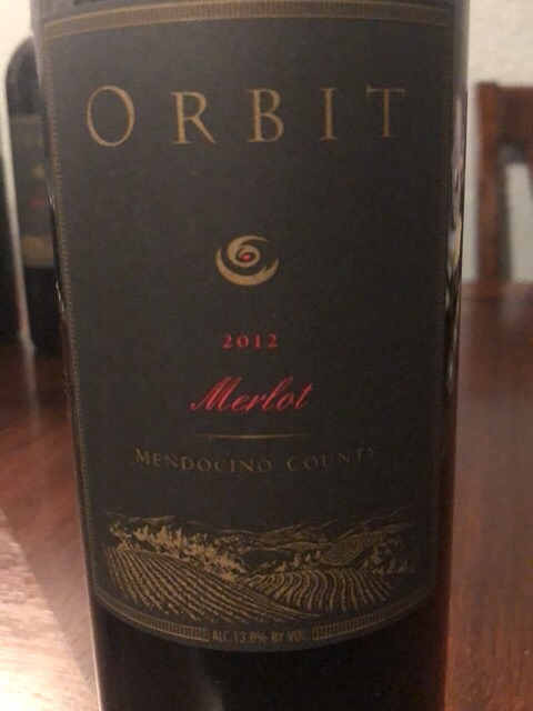 Orbit - Merlot - 2012
