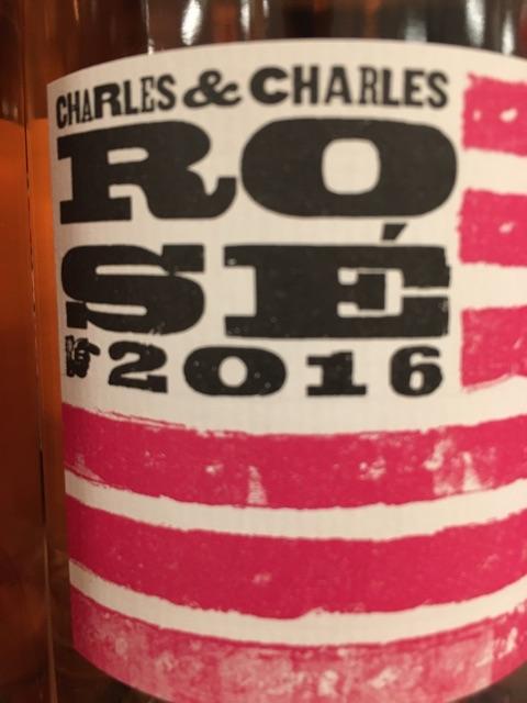Charles & Charles - Rosé - 2016