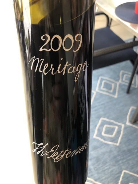 Jefferson Vineyards - Meritage - 2009