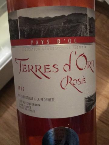Roquebrun - Terres d'Orb Rosé - 2015