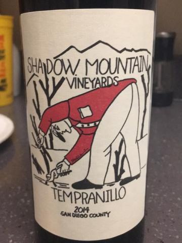 Shadow Mountain - Tempranillo - 2014