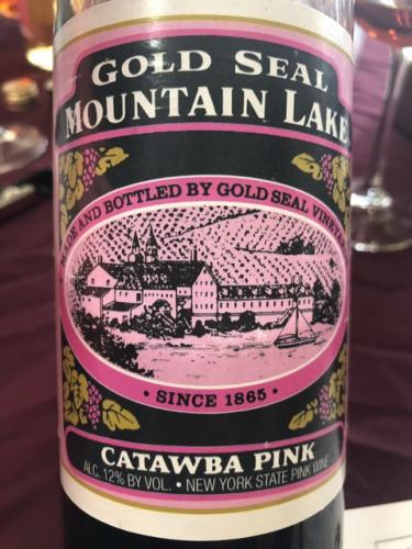 Gold Seal Vineyards - Mountain Lake Catawba Pink - N.V.