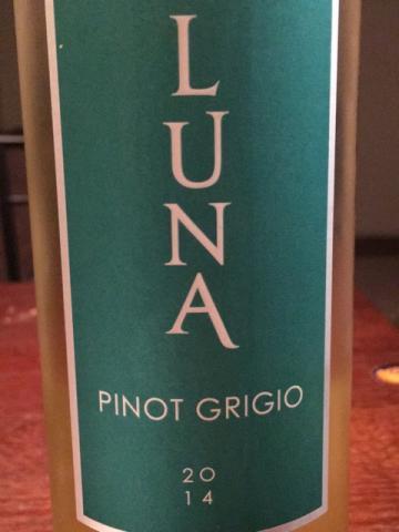 Luna Vineyards - Pinot Grigio - 2014