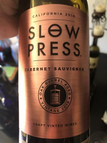 Slow Press - Cabernet Sauvignon - 2016