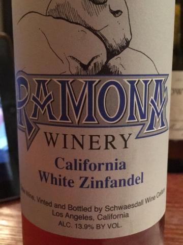 Ramona winery - White Zinfandel - N.V.