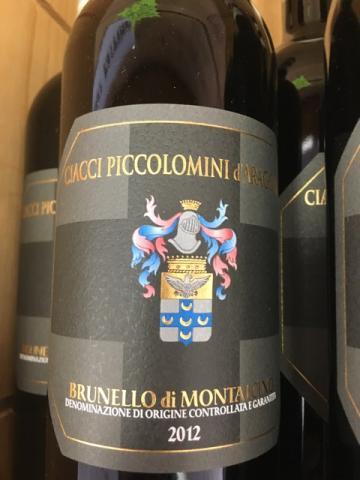 Ciacci Piccolomini d'Aragona - Brunello di Montalcino - 2012