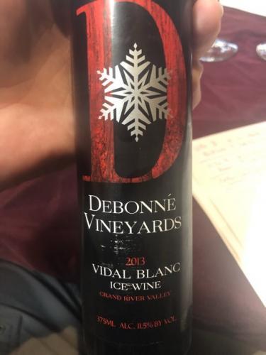 Debonné Vineyards - Vidal Blanc IceWine - 2013