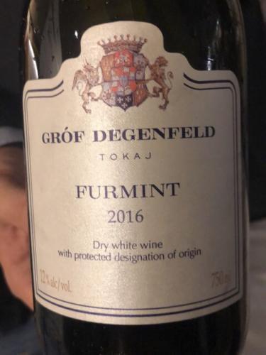 Gróf Degenfeld - Tokaji Furmint - 2016