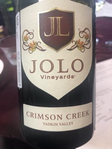 Jolo - Crimson Creek - 2017