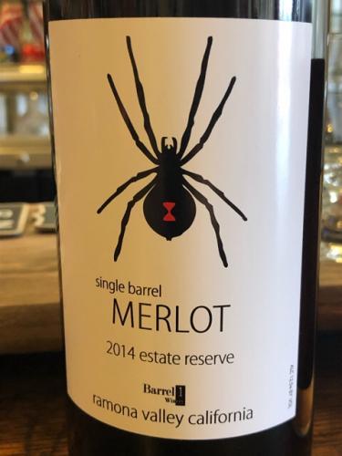 Barrel 1 - Estate Reserve Merlot - 2014