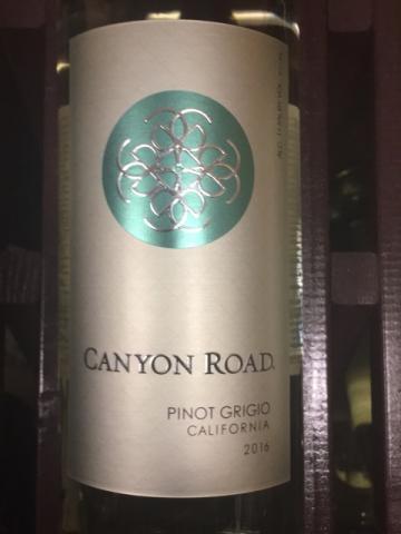 Canyon Road - Pinot Grigio - 2016