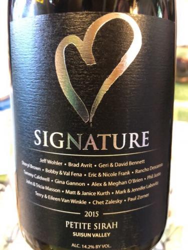 Signature Wines - Petite Sirah - 2015