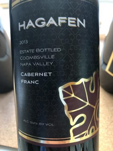 Hagafen - Cabernet Franc - 2013
