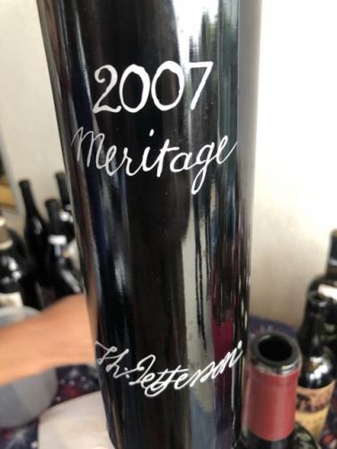 Jefferson Vineyards - Meritage - 2007