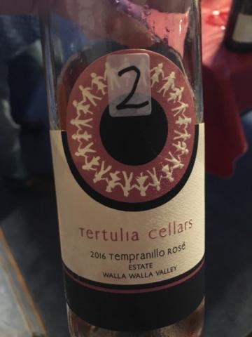Tertulia Cellars - Tempranillo Rosé - 2016