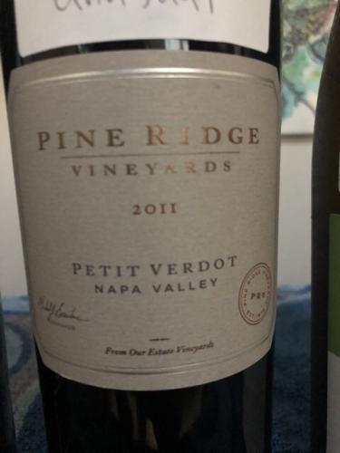 Pine Ridge - Petit Verdot - 2011