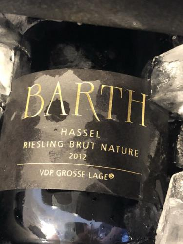 Barth - Hassel Riesling Brut - 2012