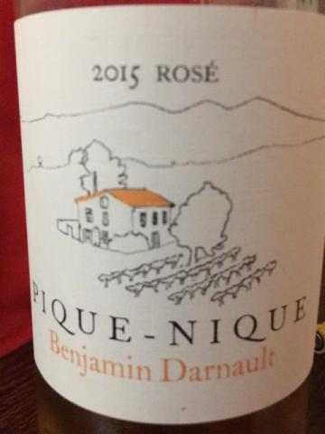 Benjamin Darnault - Pique-Nique Rosé - 2015