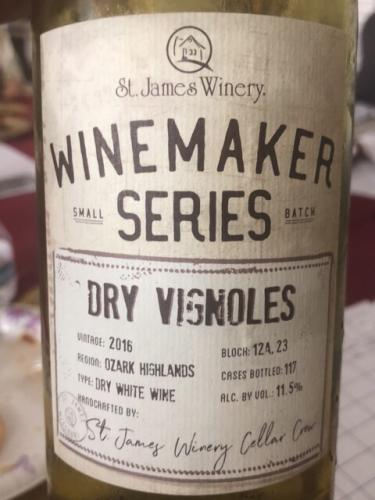 St. James - Winemaker Series The Folly - 2016