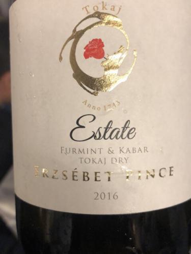 Erzsebet Pince - Furmint - Kabar - 2016