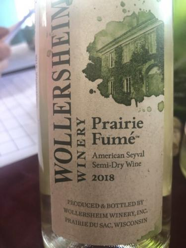 Wollersheim Winery - Prairie Fumé - 2018