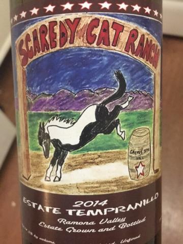 Scaredy Cat Ranch Estate - Tempranillo -