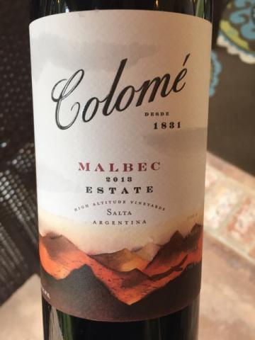 Colomé - Malbec Estate - 2013
