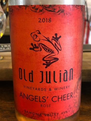 Old Julian Vineyards & Winery - Angel's Cheer - 2018